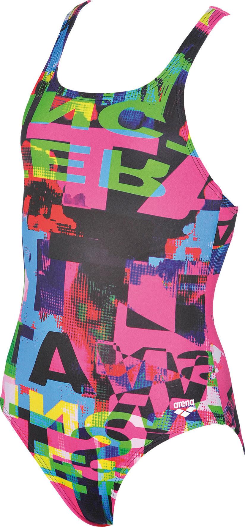 arena Instinct Jr Baddräkt pink flerfärgad - till fenomenalt pris på ... 278234dcf1635